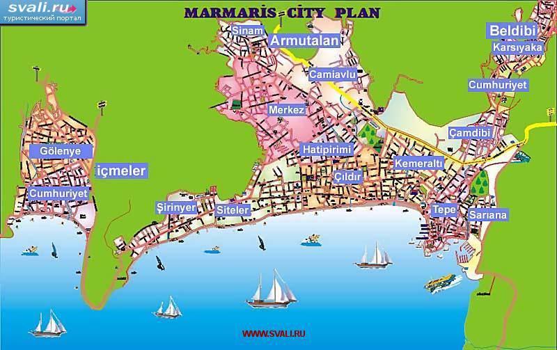 карта мармариса скачать - фото 3