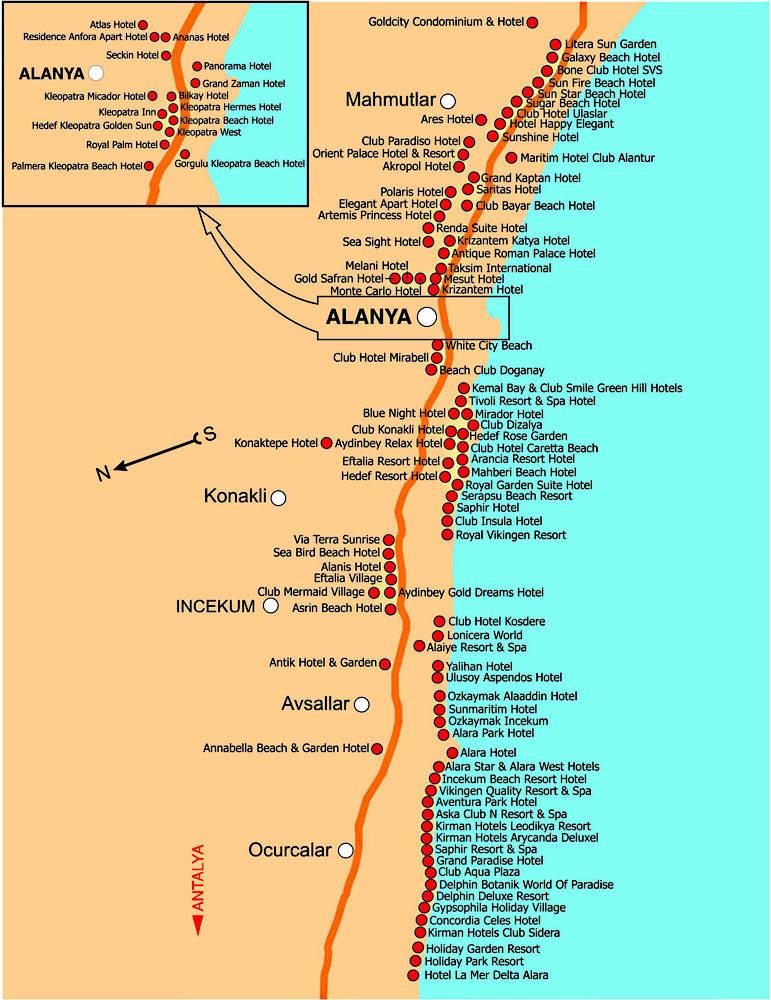 карта алании скачать - фото 11