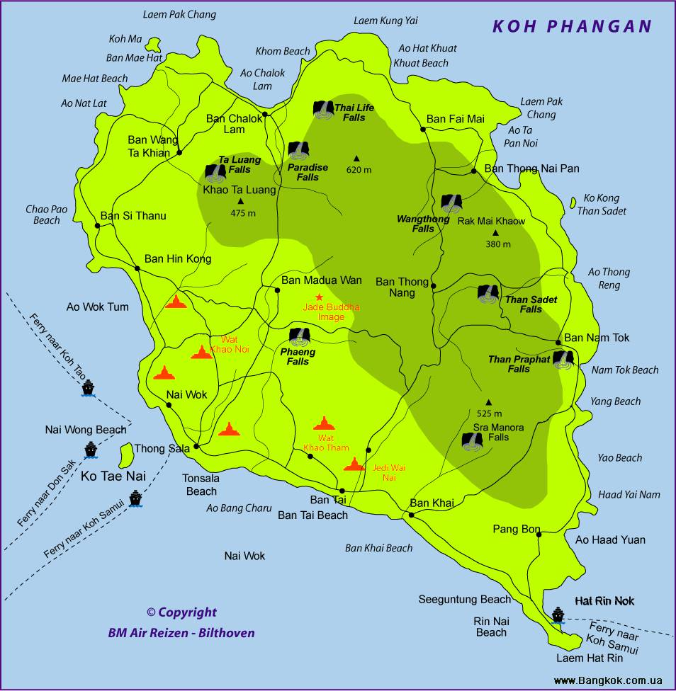 торговых карта достопримечательностей острова панган Автозаводская Академическая Александровский