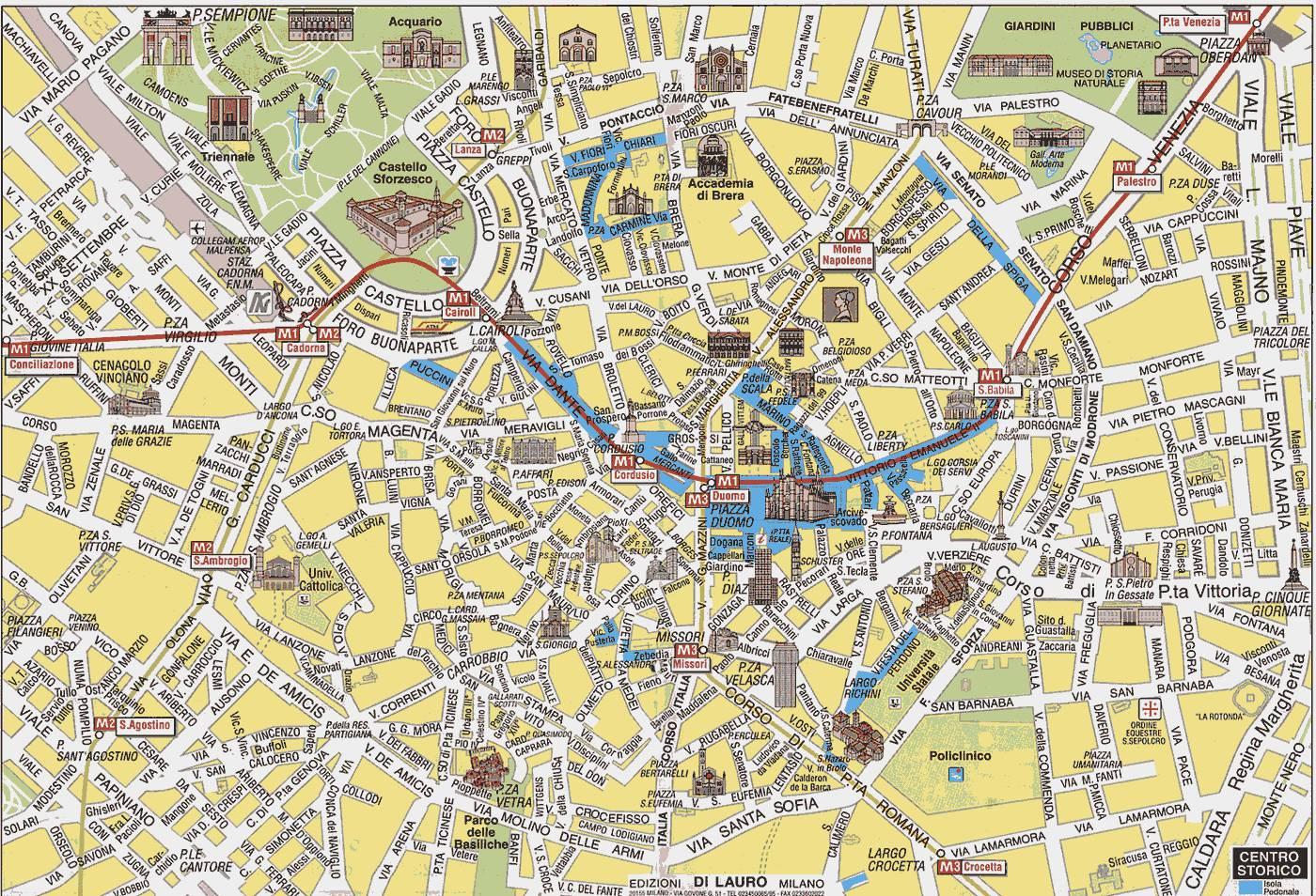 работу, подработку карта милана на русском языке с достопримечательностями сочетаясь остальным интерьерам