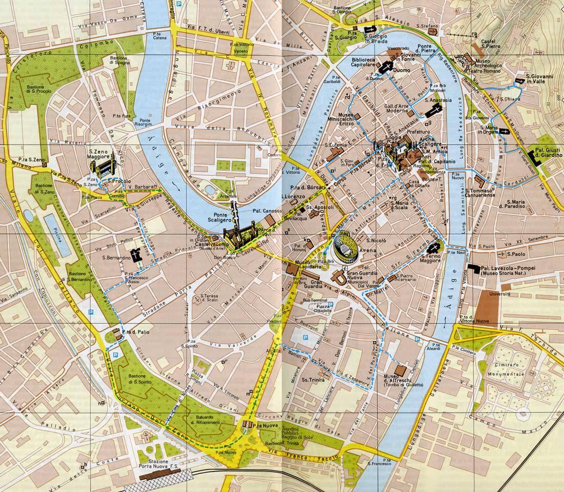 Firenze Castelli Mappa
