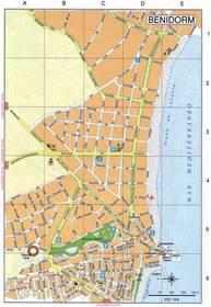 Бенидорм испания достопримечательности на карте