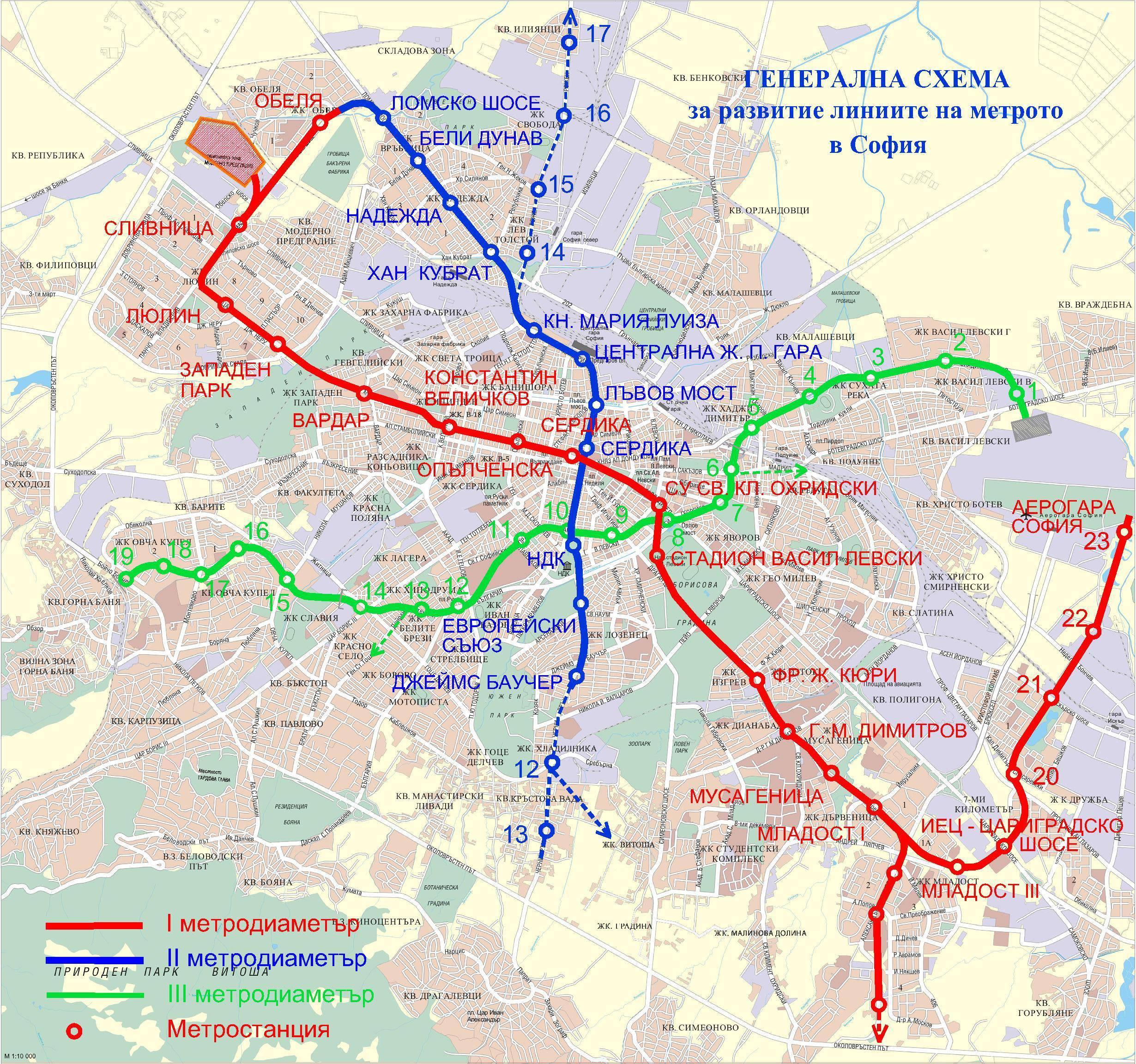 Sofiya Na Karte Mira Podrobnye Karty Sofii Karta Otelej