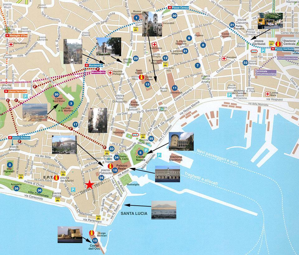 карта неаполя с достопримечательностями на русском языке скачать бесплатно - фото 2