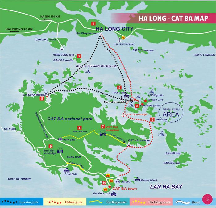 Помогите составить маршрут по Вьетнаму