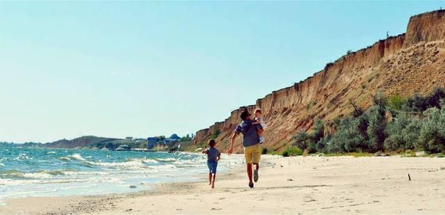 Очаков фото пляж отзывы