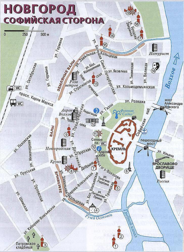 Картинки карта новгорода