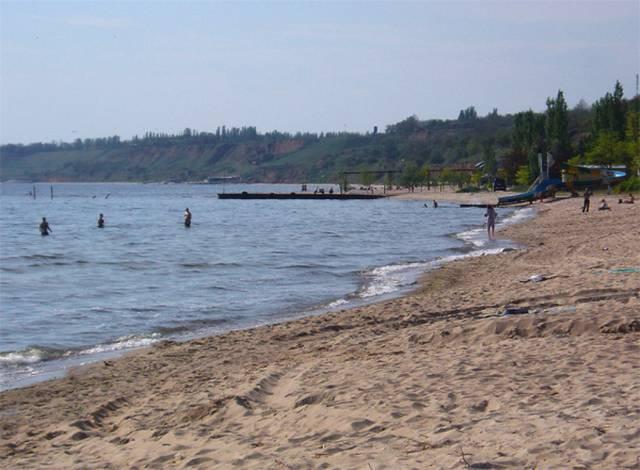 Фото Пляжа Огонёк в Адлере