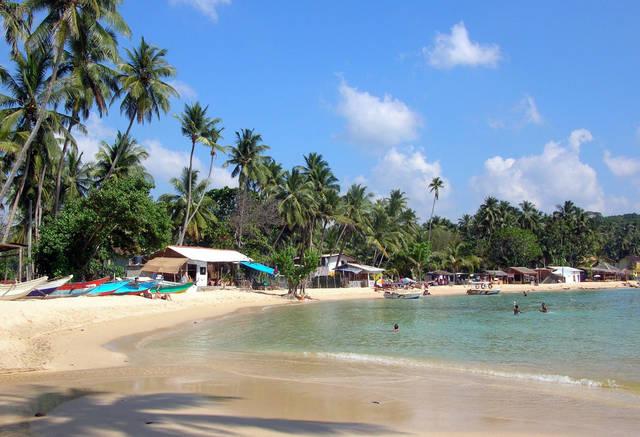 Унаватуна, Шри-Ланка. Фото пляжа и моря. Отзывы об отдыхе в 7